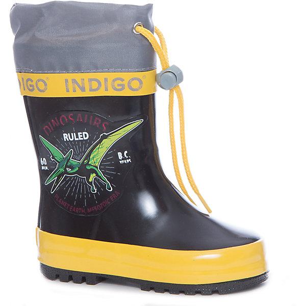 Фотография товара резиновые сапоги для мальчика Indigo kids (5489482)