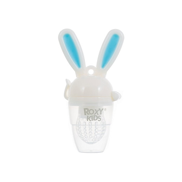 Roxy-Kids Ниблер для прикорма малышей Bunny Twist, Roxy-Kids, голубой roxy kids силиконовая сеточка для ниблеров roxy kids