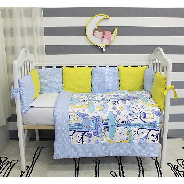 byTwinz Комплект в кроватку 6 предметов By Twinz, Северное сияние