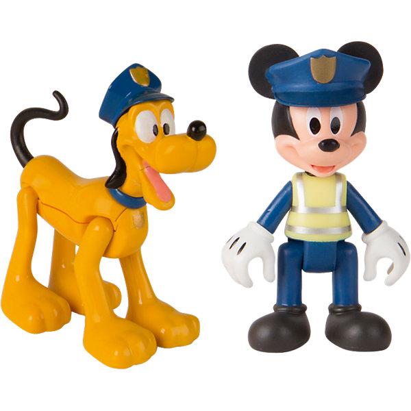 IMC Toys Игровой набор Disney Микки и весёлые гонки Полицейские