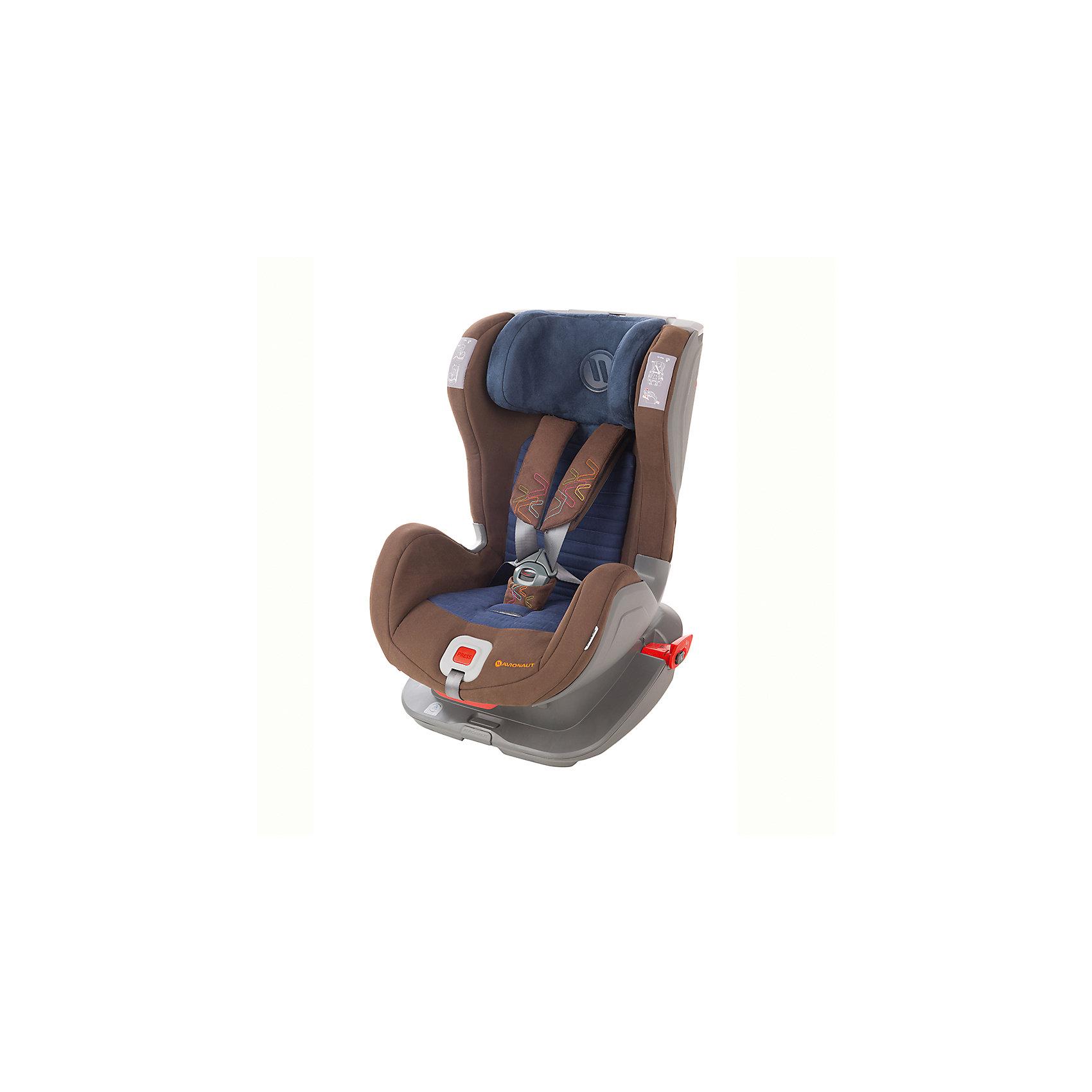Автокресло Avionaut GLIDER SOFTY ISOFIX, 9-25 кг, коричневый/синий