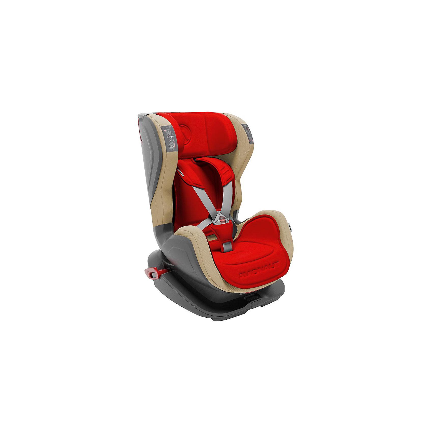 Автокресло Avionaut GLIDER, 9-25кг, красный/бежевый