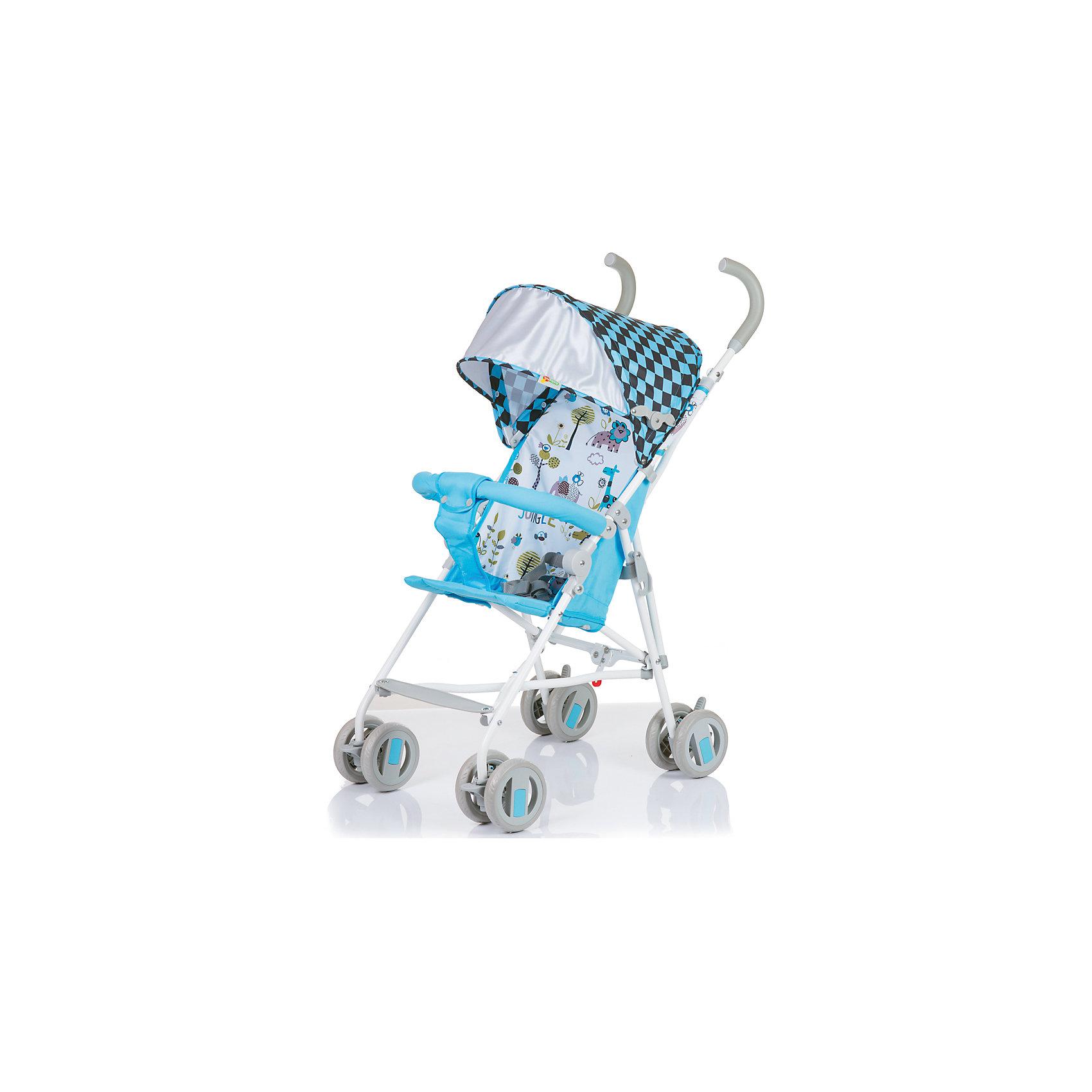 Baby Hit Коляска-трость BabyHit Weeny, бело-голубой