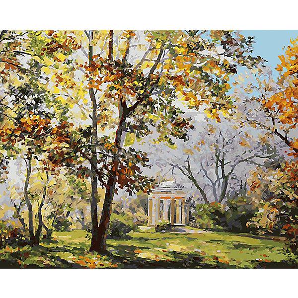 Купить Живопись на холсте Ротонда в парке Екатерингоф , 40*50 см, Белоснежка, Китай, Унисекс