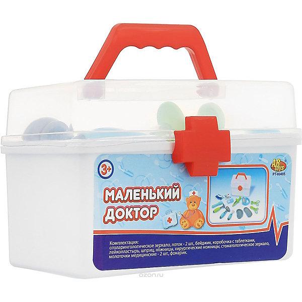 ABtoys Игровой набор Маленький доктор в чемодане, 13 предметов