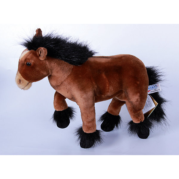 Пони шоколадно-коричневый, 36 см, HansaМягкие игрушки животные<br>Пони шоколадно-коричневый, 36 см, Hansa (Ханса)<br><br>Характеристики:<br><br>• реалистичная мягкая игрушка<br>• приятная на ощупь<br>• прочный каркас<br>• ноги сгибаются<br>• размер игрушки: 36 см<br>• материал: пластик, синтепон, текстиль, искусственный мех<br>• размер упаковки: 12х36 см<br>• вес: 720 грамм<br><br>Коричневый пони - отличный подарок для ценителей качественных и реалистичных игрушек. Каркас выполнен из прочного металла, что обеспечивает лошадке большую прочность. Ноги пони сгибаются для правдоподобности игры. Лицевая сторона игрушки очень мягкая и приятная на ощупь. Детали лошадки выглядят реалистично, чтобы ребенок мог придумать самые интересные игры.<br><br>Пони шоколадно-коричневый, 36 см, Hansa (Ханса) вы можете купить в нашем интернет-магазине.<br>Ширина мм: 360; Глубина мм: 120; Высота мм: 300; Вес г: 720; Возраст от месяцев: 36; Возраст до месяцев: 2147483647; Пол: Унисекс; Возраст: Детский; SKU: 5503276;