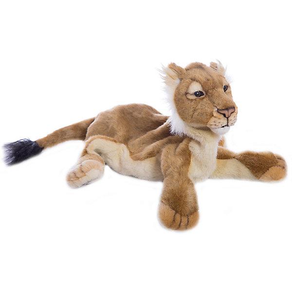 Hansa Мягкая игрушка на руку Hansa Экзотические животные Львёнок, 36 см мягкая игрушка minecraft witch 36 см