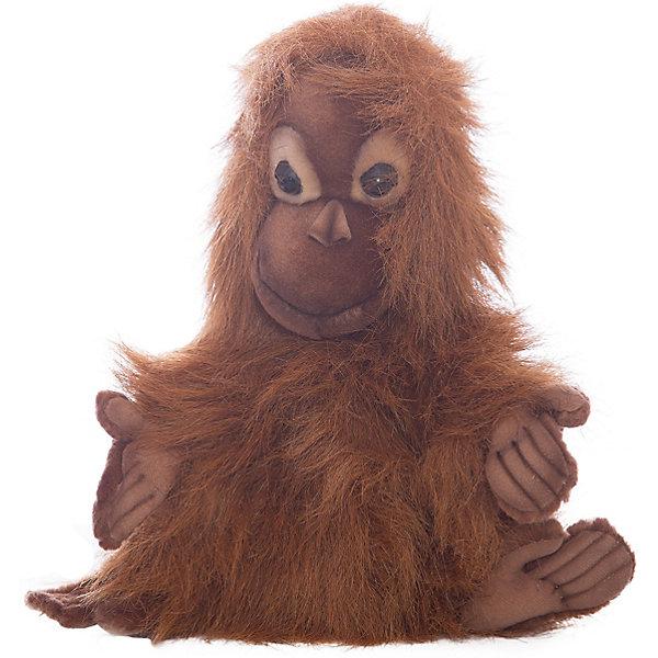 Hansa Мягкая игрушка на руку Экзотические животные Малыш орангутанга, 25 см