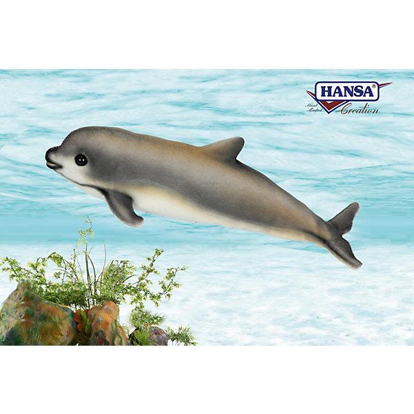 Детеныш калифорнийской морской свиньи, 31 см, HansaМягкие игрушки животные<br>Детеныш калифорнийской морской свиньи, 31 см, Hansa (Ханса)<br><br>Характеристики:<br><br>• реалистичные детали<br>• приятная на ощупь<br>• размер игрушки: 31 см <br>• материал: искусственный мех, пластик, полиэфир, текстиль<br>• вес: 180 грамм<br><br>Детеныш калифорнийской морской свиньи от Hansa порадует вас своей реалистичностью. Мягкая шерстка и милые блестящие глазки делают игрушку очень привлекательной для взрослых и детей. Мягкая игрушка Hansa станет отличным подарком ребенку или украшением интерьера.<br><br>Детеныш калифорнийской морской свиньи, 31 см, Hansa (Ханса) можно купить в нашем интернет-магазине.<br>Ширина мм: 100; Глубина мм: 310; Высота мм: 120; Вес г: 180; Возраст от месяцев: 36; Возраст до месяцев: 2147483647; Пол: Унисекс; Возраст: Детский; SKU: 5503306;