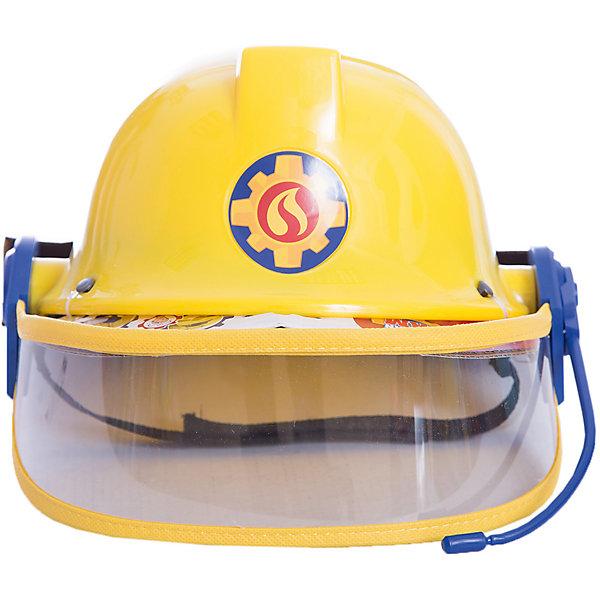 Каска с микрофоном Пожарный Сэм, диаметр 23 см, SimbaНаборы полицейского, пожарного<br>Каска с микрофоном Пожарный Сэм, диаметр 23 см, Simba (Симба)<br><br>Характеристики:<br><br>• фиксирующий ремешок<br>• защитное стекло<br>• диаметр каски: 23 см<br>• для окружности головы: 48-53 см<br>• материал: пластик, текстиль<br>• размер упаковки: 13х23,5х27,5 см<br>• вес: 100 грамм<br><br>Поклонники мультфильма Пожарный Сэм будут в восторге от красивой каски пожарного. Каска изготовлена из прочного пластика и имеет защитный ремешок с липучкой, предназначенный для фиксации. Регулируемое забрало защитит лицо от повреждений. Реалистичный дизайн каски с микрофоном позволит ребенку почувствовать себя настоящим пожарным, спешащим спасти людей из огня.<br><br>Каску с микрофоном Пожарный Сэм, диаметр 23 см, Simba (Симба) можно купить в нашем интернет-магазине.<br>Ширина мм: 130; Глубина мм: 235; Высота мм: 275; Вес г: 100; Возраст от месяцев: 36; Возраст до месяцев: 84; Пол: Мужской; Возраст: Детский; SKU: 5506953;