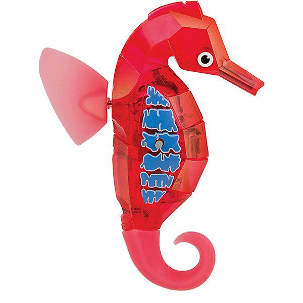 Микро-робот Aqua Bot Морской конек, красный, HexbugИнтерактивные животные<br>Микро-робот Aqua Bot Морской конек, красный, Hexbug (Хексбаг)<br><br>Характеристики:<br><br>• плавает в любом направлении<br>• автоматическое отключение вне воды<br>• световые эффекты<br>• цвет: красный<br>• размер: 9х6,5х2 см<br>• батарейки: AG13 - 2 шт. (входят в комплект)<br>• материал: пластик, металл<br>• размер упаковки: 12х6х17 см<br>• вес: 85 грамм<br><br>Морской конек Aqua Bot подарит вам много радости и незабываемых эмоций. Он быстро плавает в воде, ныряет и двигается в разных направлениях. Лампочки внутри игрушки светятся во время движения. Робот автоматически отключается после пяти минут работы или при нахождении вне воды. Чтобы морской конек снова начал двигаться, достаточно всколыхнуть воду или постучать по стенке аквариума. Этот морской конек - отличный подарок любителям роботов!<br><br>Микро-робота Aqua Bot Морской конек, красный, Hexbug (Хексбаг) вы можете купить в нашем интернет-магазине.<br>Ширина мм: 160; Глубина мм: 80; Высота мм: 120; Вес г: 58; Возраст от месяцев: 36; Возраст до месяцев: 2147483647; Пол: Унисекс; Возраст: Детский; SKU: 5507190;