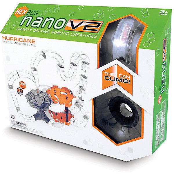 Нано V2 Харикейн сэт - большой игровой набор для Нано V2, HexbugИнтерактивные животные<br>Нано V2 Харикейн сэт - большой игровой набор для Нано V2, Hexbug (Хексбаг)<br><br>Характеристики:<br><br>• разветвленная система туннелей<br>• 2 шестиугольные площадки<br>• микро-робот в комплекте<br>• батарейки: AG13 - 1 шт. (входит в комплект<br>• размер упаковки: 43х35х9 см<br><br>Харикен сэт создан специально для поклонников микро-роботов Нано V2. Конструкция представляет собой огромный лабиринт с множеством тоннелей и двумя площадками. Ваши маленькие жучки будут резвиться на поверхности лабиринта, карабкаться по трубкам и радовать вас своей ловкостью. Главная особенность лабиринта - черная воронка, в которую смогут попасть все жучки. Это представление порадует вас оригинальным исполнением.<br><br>Нано V2 Харикейн сэт - большой игровой набор для Нано V2, Hexbug (Хексбаг) можно купить в нашем интернет-магазине.<br>Ширина мм: 350; Глубина мм: 90; Высота мм: 430; Вес г: 1004; Возраст от месяцев: 36; Возраст до месяцев: 2147483647; Пол: Унисекс; Возраст: Детский; SKU: 5507201;