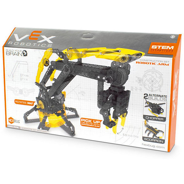 Hexbug Конструктор VEX Robotic Arm, Hexbug конструктор nd play автомобильный парк 265 608