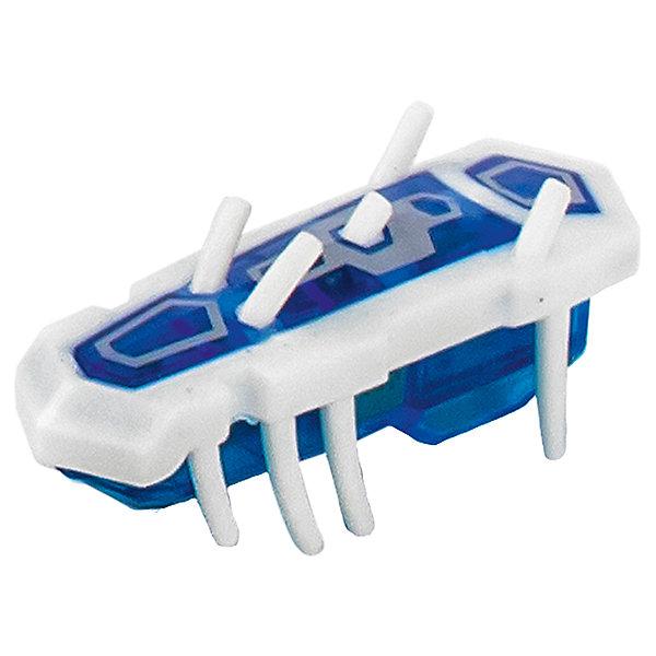 Микро-робот Nano Nitro Single, бело-синий, HexbugИнтерактивные игрушки для малышей<br>Микро-робот Nano Nitro Single, бело-синий, Hexbug (Хексбаг)<br><br>Характеристики:<br><br>• быстро меняет траекторию движения<br>• самостоятельно переворачивается<br>• карабкается наверх<br>• мощный моторчик<br>• устойчив к повреждениям<br>• 8 ножек снизу и 5 сверху<br>• батарейки: AG13 - 1 шт. (входит в комплект)<br>• размер: 1,4х2х4,2 см<br>• вес: 8 грамм<br>• цвет: бело-синий<br>• материал: пластик<br>• размер упаковки: 13х5х3 см<br>• вес: 65 грамм<br><br>Микро-робот Nano Nitro Single очень напоминает настоящего жучка. Он также быстро бегает, меняет траекторию движения и даже самостоятельно переворачивается в случае падения. Благодаря усовершенствованному моторчику жучок способен карабкаться наверх по специальным трубочкам. Игрушка подходит для старых и новых моделей нанодромов Hexbug.<br><br>Микро-робота Nano Nitro Single, бело-синий, Hexbug (Хексбаг) вы можете купить в нашем интернет-магазине.<br>Ширина мм: 130; Глубина мм: 30; Высота мм: 30; Вес г: 45; Возраст от месяцев: 36; Возраст до месяцев: 2147483647; Пол: Унисекс; Возраст: Детский; SKU: 5507228;
