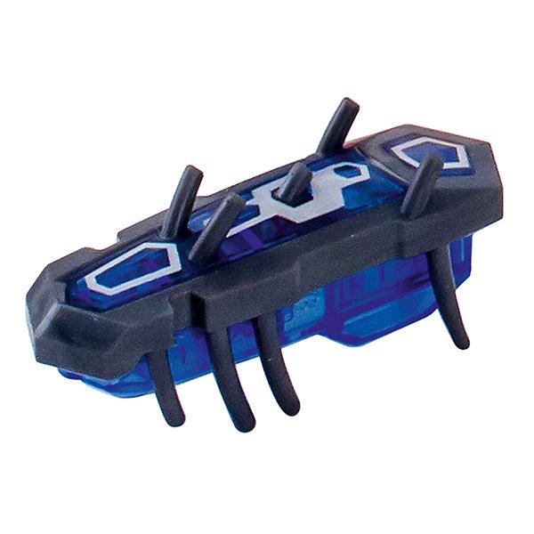 Микро-робот Nano Nitro Single , серо-синий, HexbugМир животных<br>Микро-робот Nano Nitro Single, серо-синий, Hexbug (Хексбаг)<br><br>Характеристики:<br><br>• быстро меняет траекторию движения<br>• самостоятельно переворачивается<br>• карабкается наверх<br>• мощный моторчик<br>• устойчив к повреждениям<br>• 8 ножек снизу и 5 сверху<br>• батарейки: AG13 - 1 шт. (входит в комплект)<br>• размер: 1,4х2х4,2 см<br>• вес: 8 грамм<br>• цвет: серо-синий<br>• материал: пластик<br>• размер упаковки: 13х5х3 см<br>• вес: 65 грамм<br><br>Микро-робот Nano Nitro Single очень напоминает настоящего жучка. Он также быстро бегает, меняет траекторию движения и даже самостоятельно переворачивается в случае падения. Благодаря усовершенствованному моторчику жучок способен карабкаться наверх по специальным трубочкам. Игрушка подходит для старых и новых моделей нанодромов Hexbug.<br><br>Микро-робота Nano Nitro Single, серо-синий, Hexbug (Хексбаг) вы можете купить в нашем интернет-магазине.<br>Ширина мм: 130; Глубина мм: 25; Высота мм: 25; Вес г: 30; Возраст от месяцев: 36; Возраст до месяцев: 2147483647; Пол: Унисекс; Возраст: Детский; SKU: 5507232;