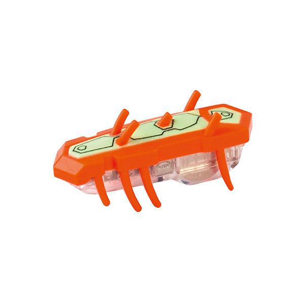 Микро-робот Nitro Glow , оранжевый, HexbugРоботы<br>Микро-робот Nitro Glow, оранжевый, Hexbug (Хексбаг)<br><br>Характеристики:<br><br>• быстро меняет траекторию движения<br>• самостоятельно переворачивается<br>• карабкается наверх<br>• мощный моторчик<br>• устойчив к повреждениям<br>• 8 ножек снизу и 5 сверху<br>• батарейки: AG13 - 1 шт. (входит в комплект)<br>• размер: 1,4х2х4,2 см<br>• вес: 8 грамм<br>• цвет: оранжевый<br>• материал: пластик<br>• размер упаковки: 13х5х3 см<br>• вес: 65 грамм<br><br>Маленький робот Nitro Glow невероятно быстрый и ловкий. Он способен двигаться в любом направлении, передвигая своими крохотными лапками. Не спешите поднимать микро-робота, если он повернулся на спинку - Nitro Glow сможет самостоятельно перевернуться и продолжить забег. Благодаря усовершенствованным технологиям и пяти верхним лапкам жучок научился взбираться по специальным трубочкам из лабиринтов нанодрома. При этом старые лабиринты тоже отлично подойдут для микро-робота.<br><br>Микро-робота Nitro Glow, оранжевый, Hexbug (Хексбаг) можно купить в нашем интернет-магазине.