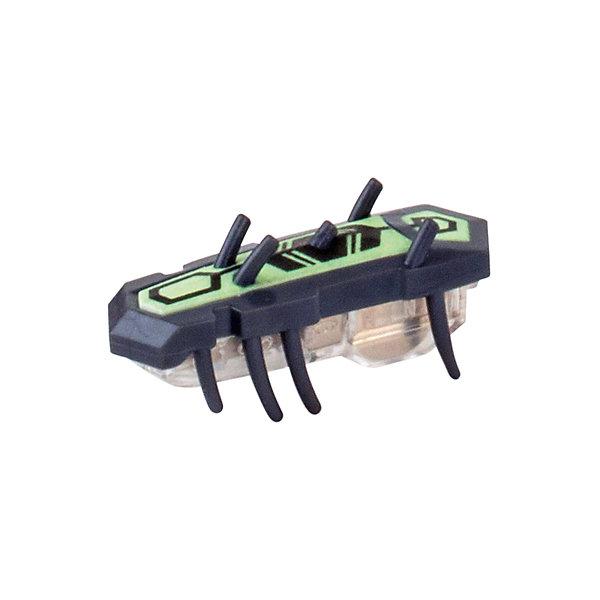 Микро-робот Nitro Glow , черный, HexbugИнтерактивные животные<br>Микро-робот Nitro Glow, черный, Hexbug (Хексбаг)<br><br>Характеристики:<br><br>• быстро меняет траекторию движения<br>• самостоятельно переворачивается<br>• карабкается наверх<br>• мощный моторчик<br>• устойчив к повреждениям<br>• 8 ножек снизу и 5 сверху<br>• батарейки: AG13 - 1 шт. (входит в комплект)<br>• размер: 1,4х2х4,2 см<br>• вес: 8 грамм<br>• цвет: черный<br>• материал: пластик<br>• размер упаковки: 13х5х3 см<br>• вес: 65 грамм<br><br>Маленький робот Nitro Glow невероятно быстрый и ловкий. Он способен двигаться в любом направлении, передвигая своими крохотными лапками. Не спешите поднимать микро-робота, если он повернулся на спинку - Nitro Glow сможет самостоятельно перевернуться и продолжить забег. Благодаря усовершенствованным технологиям и пяти верхним лапкам жучок научился взбираться по специальным трубочкам из лабиринтов нанодрома. При этом старые лабиринты тоже отлично подойдут для микро-робота.<br><br>Микро-робота Nitro Glow, черный, Hexbug (Хексбаг) можно купить в нашем интернет-магазине.<br>Ширина мм: 130; Глубина мм: 25; Высота мм: 25; Вес г: 30; Возраст от месяцев: 36; Возраст до месяцев: 2147483647; Пол: Унисекс; Возраст: Детский; SKU: 5507236;