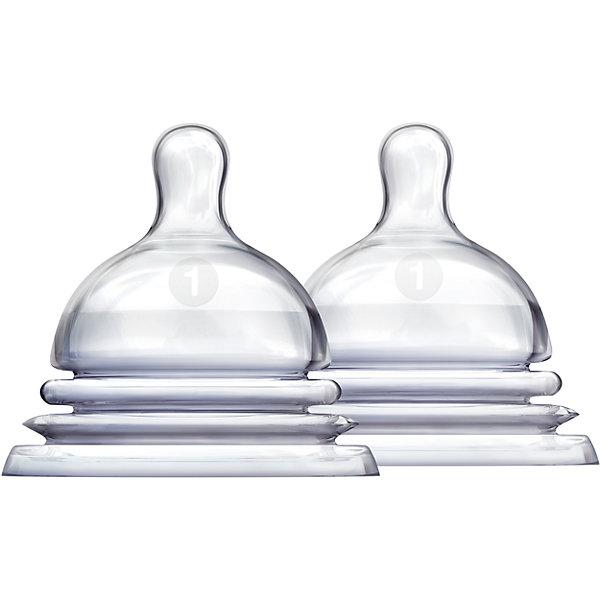 munchkin Соска силиконовая LATCH , 2шт., Munchkin наклади на соски силиконовые защитные большие 2шт chicco для груди