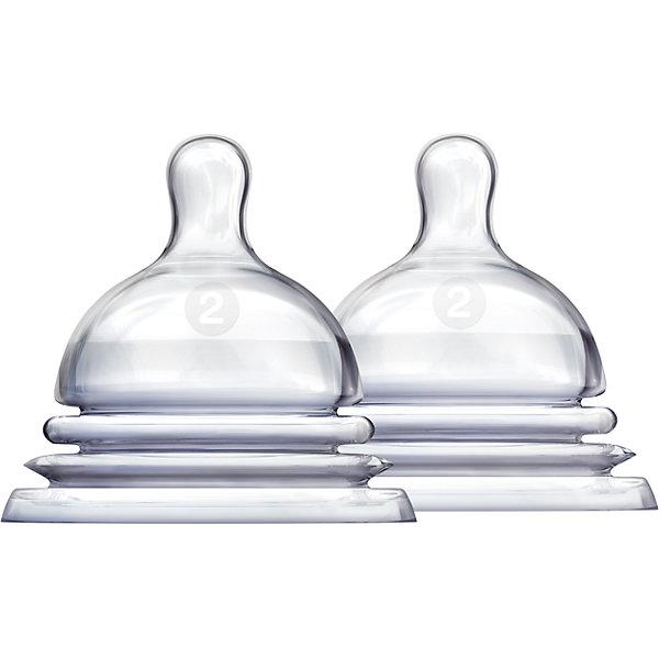 munchkin Соска силиконовая LATCH , 2шт., Munchkin стерилизатор для свч munchkin latch бутылочки 2 шт ершик 11740