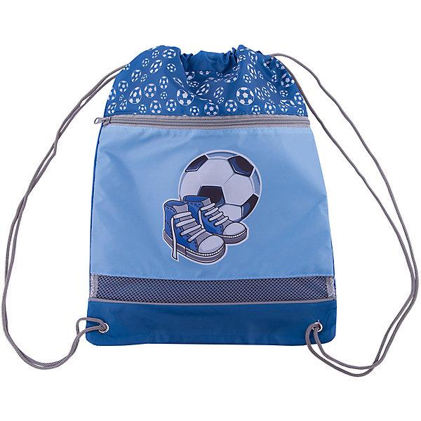 Мешок-рюкзак Спорт 30*40 см.Мешки для обуви<br>Мешок-рюкзак Спорт 30*40 см., Mary Poppins (Мэри Поппинс)<br><br>Характеристики:<br><br>• одно основное отделение<br>• сетчатая вставка<br>• утягивается с помощью шнурка<br>• дополнительная застёжка на молнии<br>• материал: текстиль, пластик<br>• размер: 30х40 см<br>• размер упаковки: 30х40х1 см<br>• вес: 100 грамм<br><br>Мешок-рюкзак Спорт обеспечит юному спортсмену хорошее настроение и сохранит его обувь. Мешок имеет одно вместительное обделение, утягивающееся шнурками, а сверху есть еще одна застежка на молнии. Сетчатая вставка снизу создает правильную циркуляцию воздуха для обуви. Лицевая сторона декорирована принтом с изображением футбольного мяча и спортивной обуви.<br><br>Мешок-рюкзак Спорт 30*40 см., Mary Poppins (Мэри Поппинс) вы можете купить в нашем интернет-магазине.<br>Ширина мм: 300; Глубина мм: 400; Высота мм: 100; Вес г: 60; Возраст от месяцев: 36; Возраст до месяцев: 2147483647; Пол: Мужской; Возраст: Детский; SKU: 5508535;