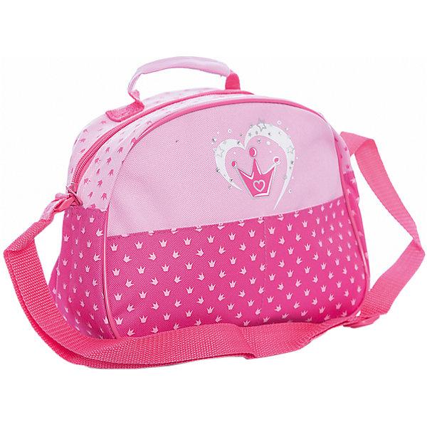 Сумка Корона 28*10*21 см.Детские сумки<br>Сумка Корона 28*10*21 см., Mary Poppins (Мэри Поппинс)<br><br>Характеристики:<br><br>• яркий дизайн<br>• вместительное отделение<br>• две ручки<br>• размер: 28х10х21 см<br>• материал: текстиль, пластик<br>• размер упаковки: 28х10х21 см<br>• вес: 167 грамм<br><br>Стильная сумка Корона от Mary Poppins создана специально для маленьких принцесс. Девочка сможет сложить в нее детскую косметику, игрушки и другие ценные вещи. Сумка имеет маленькую ручку и плечевую лямку. Вместительное отделение сумочки застегивается с помощью молнии. Лицевая сторона оформлена изображением трехзубчатой короны на розовом фоне.<br><br>Сумку Корона 28*10*21 см., Mary Poppins (Мэри Поппинс) вы можете купить в нашем интернет-магазине.<br>Ширина мм: 280; Глубина мм: 210; Высота мм: 1000; Вес г: 167; Возраст от месяцев: 36; Возраст до месяцев: 2147483647; Пол: Женский; Возраст: Детский; SKU: 5508551;