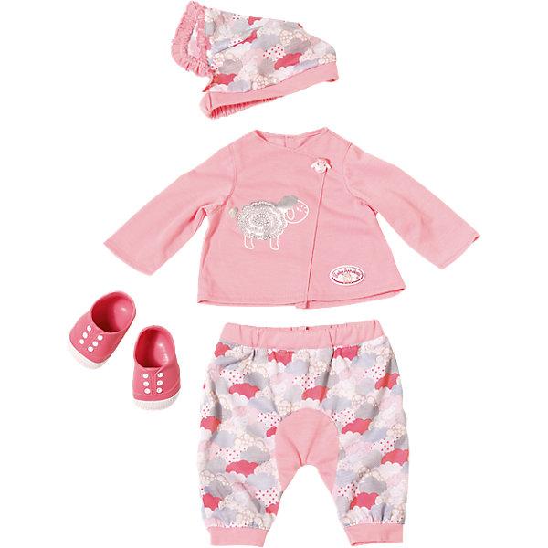 Zapf Creation Одежда Baby Annabell для уютного вечера куклы и одежда для кукол zapf creation baby annabell памперсы 5 штук