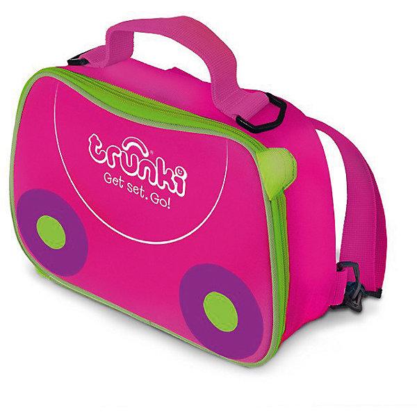 TRUNKI Сумка-холодильник, розовая сумка для переноски mini micro розовая