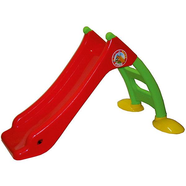 Горка малая, DohanyГорки<br>Горка малая, Dohany.<br><br>Характеристики:<br><br>• Для детей в возрасте: от 2 лет<br>• Максимальная нагрузка: 20 кг.<br>• Длина спуска: 85 см.<br>• Размер: 130х85х76 см.<br>• Материал: пластик<br>• Сборная конструкция<br>• Цвет: красный, зеленый, желтый<br>• Размер упаковки: 41х23х113 см.<br>• Вес в упаковке: 5,5 кг.<br><br>Горка - мечта любого ребенка. С помощью такой горки можно создать веселый детский уголок в комнате. Горка компактная, не занимает много места, при этом она очень яркая и украсит собой интерьер комнаты малыша. Малыши будут легко подниматься на горку по лестнице с безопасными нескользящими степенями, а затем с задорными улыбками катиться вниз. Спуск у горки широкий, плавный без перепадов, с достаточно высокими бортиками для безопасности. Основание горки широкое и устойчивое, не скользит. Горка изготовлена из высококачественного пластика, что гарантирует длительный срок эксплуатации. Она не деформируется от перепада температур, поэтому может использоваться на улице. Горка легко собирается, фиксируется пластиковыми заглушками, дополнительный инструмент не требуется. При установке горки не требуется дополнительных креплений. Горка компактна в сложенном виде для хранения и транспортировки. Изделие полностью соответствует европейским нормам качества и безопасности.<br><br>Горку малую можно купить в нашем интернет-магазине.<br>Ширина мм: 1300; Глубина мм: 850; Высота мм: 760; Вес г: 5500; Возраст от месяцев: 24; Возраст до месяцев: 84; Пол: Унисекс; Возраст: Детский; SKU: 5510728;