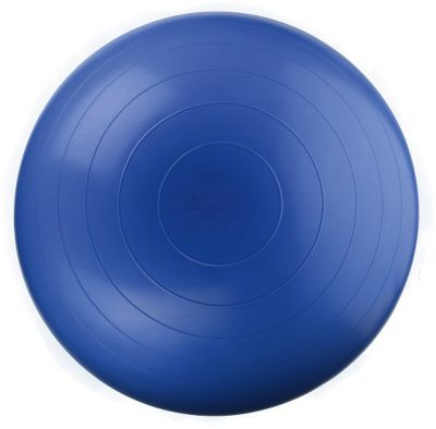 Мяч гимнастический (Фитбол), 45см голубой, DOKA, артикул:5510729 - Фитнес