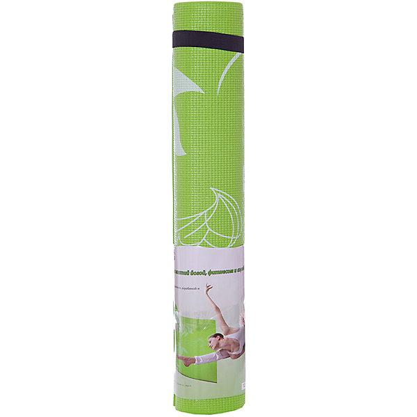 Коврик для йоги  ВВ8300, Z-Sports, салатовыйКоврики для фитнеса<br>Основные характеристики<br><br>Материал: поливинилхлорид<br>Размер: 172х61х0,4см<br>Вес: 0,94кг<br>Цвета в ассортименте (розовый, фиолетовый, салатовый)<br>Вид применения: для занятий йогой, фитнесом, гимнастикой и аэробикой<br>Страна-производитель: Китай<br>Упаковка: термоусадочная пленка с цветным постером<br><br>Изделие изготовлено из современного материала, мягкого, но одновременно достаточно прочного, способного выдержать сильные механические нагрузки. Коврик без дополнительных приспособлений жестко фиксируется на самой гладкой поверхности, не скользит и приятен на ощупь. Его эстетические параметры вполне соответствуют современным требованиям - на поверхности имеются рисунки. Применяется для занятий йогой, фитнесом и аэробикой как в домашних условиях, так и в спортзалах. <br><br>Преимущества коврика BB8300:<br>- противоскользящая поверхность;<br>- оптимальный размер и вес;<br>- приятный современный дизайн и расцветка;<br>- его легко мыть и хранить, скатав в рулон.<br>Ширина мм: 100; Глубина мм: 100; Высота мм: 610; Вес г: 1000; Возраст от месяцев: 36; Возраст до месяцев: 192; Пол: Унисекс; Возраст: Детский; SKU: 5512948;