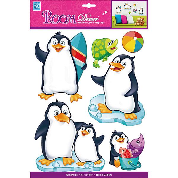 Наклейка Пингвины объемные PSA 6803, Room DecorДетские предметы интерьера<br>Характеристики:<br><br>• Предназначение: декор комнаты<br>• Тематика наклеек: пингвины<br>• Материал: картон, ПВХ<br>• Комплектация: 7 элементов<br>• Форма: 3d<br>• Клейкая поверхность крепится на окрашенные стены, обои, двери, деревянные панели, стекло<br>• Не повреждают поверхность<br>• Устойчивы к выцветанию и истиранию<br>• Повышенные влагостойкие свойства<br>• Размеры (Д*Ш*В): 27,5*7*35 см<br>• Вес: 40 г<br>• Упаковка: блистер<br><br>Все наклейки выполнены из безопасного и нетоксичного материала – ПВХ. Прочная клеевая основа обеспечивает надежное прикрепление практически к любому виду горизонтальной или вертикальной поверхности, при этом не деформируя и не повреждая ее. Наклейки обладают влагоустойчивыми свойствами, поэтому они хорошо переносят влажную уборку. <br><br>Наклейка Пингвины объемные PSA 6803, Room Decor состоит из набора, в который входят 7 элементов с изображением веселых пингвинов на льдинах. Картинки выполнены в объемном формате. <br><br>Наклейку Пингвины объемные PSA 6803, Room Decor можно купить в нашем интернет-магазине.<br>Ширина мм: 275; Глубина мм: 70; Высота мм: 350; Вес г: 40; Возраст от месяцев: 36; Возраст до месяцев: 168; Пол: Унисекс; Возраст: Детский; SKU: 5513046;