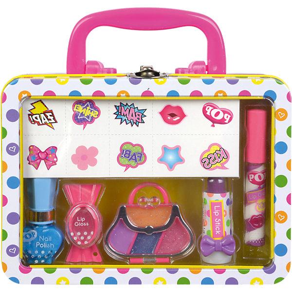 - POP Игровой набор детской декоративной косметики для губ и ногтей