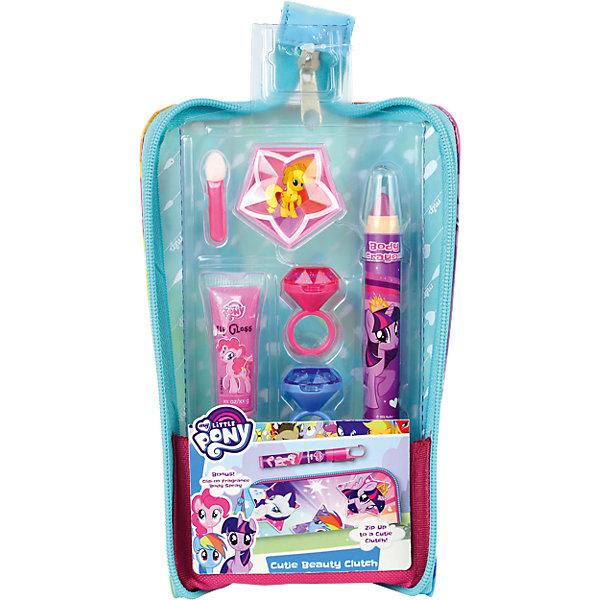 Детская декоративная косметика Markwins My Little Pony, в пеналеMy little Pony<br>Характеристики:<br><br>• возраст: 6+;<br>• пол: для девочек;<br>• цвет: розовый;<br>• габариты упаковки: 23х13х7 см.<br><br>Замечательный набор детской косметики – лучший подарок для маленьких модниц, ведь каждая малышка хочет быть похожа на маму и красить губы блеском. <br><br>Набор детской косметики выполнен в розовых оттенках и украшен изображениями пони из популярного мультсериала «My Little Pony». В комплекте есть различные виды блесков для губ. Для хранения косметики предназначен красивый пенал. <br><br>Косметика отвечает всем европейским стандартам качества: не содержит парабенов, метилизотиазолинона и пальмового масла, не вредит коже и не тестируется на животных.<br><br>В набор входят: <br><br>• косметический карандаш 1 шт.;<br>• блеск для губ в тубе 1 шт.;<br>• палитра блесков для губ из 5 оттенков;<br>• блеск для губ в колечке 2 шт.;<br>• аппликатор 1 шт.<br><br>Детскую декоративную косметику «My Little Pony» (в пенале), Markwins можно приобрести в нашем интернет-магазине.<br>Ширина мм: 262; Глубина мм: 144; Высота мм: 81; Вес г: 138; Возраст от месяцев: 36; Возраст до месяцев: 72; Пол: Женский; Возраст: Детский; SKU: 5513514;