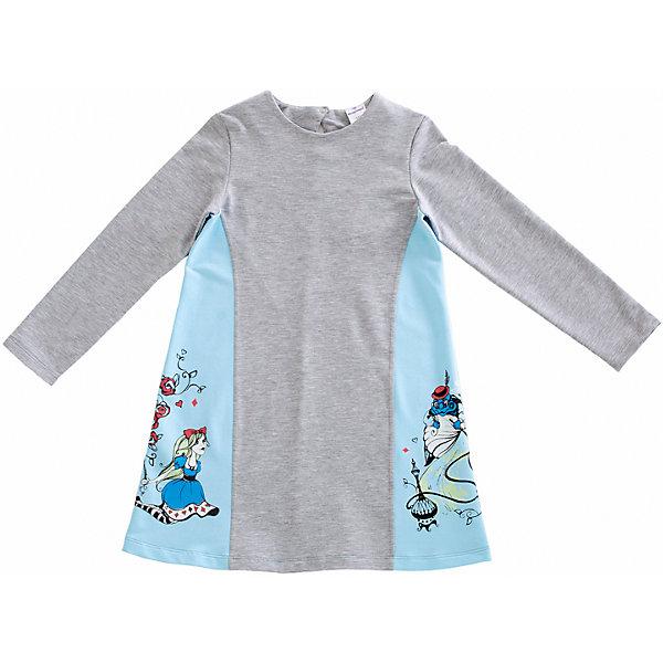 Платье для девочки МамуляндияПлатья и сарафаны<br>Платье для девочки Мамуляндия<br>Платье с длинным рукавом для девочки из дизайнерской коллекции Алиса.<br>Изготовлено трикотажного полотна высшего качества (футер).<br>Гипоаллергенный принт на водной основе, застёжка на спинке на кнопку из гипоаллергенного сплава без содержания никеля. <br><br>Состав 100% хлопок (футер). <br>Рекомендации по уходу: стирать при 40 С, гладить при средней температуре, носить с удовольствием!<br>Состав:<br>100% хлопок<br>Ширина мм: 236; Глубина мм: 16; Высота мм: 184; Вес г: 177; Цвет: голубой; Возраст от месяцев: 18; Возраст до месяцев: 24; Пол: Женский; Возраст: Детский; Размер: 92,122,116,110,104,98; SKU: 5513831;