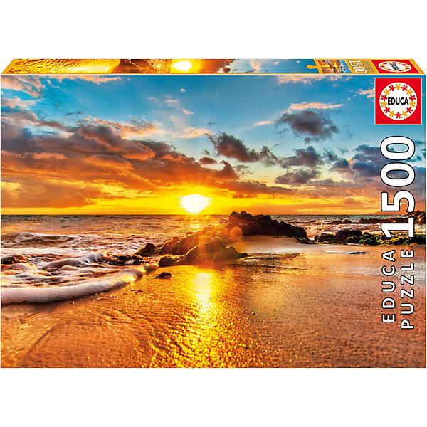 Пазл Закат в Мауи, 1500 деталей, EducaПазлы классические<br>Характеристики товара:<br><br>• возраст: от 6 лет;<br>• количество деталей: 1500;<br>• размер собранной картины: 85х60 см.;<br>• наличие клея: в комплекте;<br>• материал: картон;<br>• упаковка: картонная каробка;<br>• вес: 1,1 кг.;<br>• бренд, страна бренда: Educa (Эдука), Испания;<br>• страна-производитель: Испания.<br>                                                                                                                                                                                                                                                                                                                       <br>Пазл «Заказ в Мауи», состоящий из 1500 элементов, придется по душе всей вашей семье, ведь собрав этот пазл, вы получите великолепную картину, которая отлично впишется в интерьер любого помещения.<br><br>Пазл выполнен из высококачественных материалов, что обеспечивает идеальное прилегание элементов друг к другу. В комплекте специальный сухой клей, чтобы после сборки склеить части мозайки и сохранить прочность собранной картины на долгое время.<br><br>Собирание пазлов это не только интересно, но и полезно: ведь в процессе создания картинки развивается мелкая моторика, тренируются наблюдательность и логическое мышление.<br><br>Испанская компания Educa Borras, SA выпускает пазлы различной сложности и имеет уникальный сервис: бесплатную доставку в любую точку мира потерянной детали.<br><br>Пазл «Заказ в Мауи», 1500 деталей,  Educa (Эдука) можно купить в нашем интернет-магазине.<br>Ширина мм: 430; Глубина мм: 300; Высота мм: 55; Вес г: 1164; Возраст от месяцев: 60; Возраст до месяцев: 2147483647; Пол: Унисекс; Возраст: Детский; SKU: 5514290;