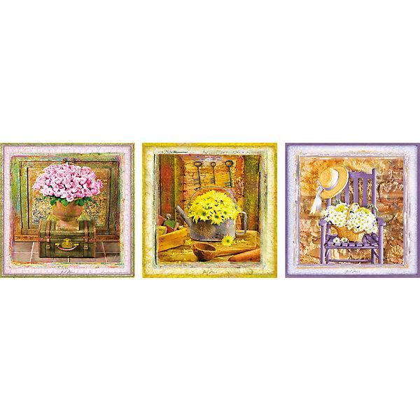 Пазлы Очаровательные моменты, 500 деталей, EducaПазлы классические<br>Характеристики товара:<br><br>• возраст: от 6 лет;<br>• количество пазлов и деталей: 3х500;<br>• размер 1 собранной картины: 40,5х40 см.;<br>• наличие клея: в комплекте;<br>• материал: картон;<br>• упаковка: картонная каробка;<br>• вес: 1,1 кг.;<br>• бренд, страна бренда: Educa (Эдука), Испания;<br>• страна-производитель: Испания.<br>                                                                                                                                                                                                                                                                                                                       <br>Набор пазлов «Очаровательные моменты» непременно придутся по душе вам и вашему ребенку. Набор  включает в себя 3 пазла по 500 элементов. Собрав эти пазлы, вы получите картинки с изображениями достопримечательностей Лондона, Нью-Йорка и Парижа. <br><br>Все картинки выполнены в нежных пастельных тонах.Пазл выполнен из высококачественных материалов, что обеспечивает идеальное прилегание деталей. Кроме того, после сборки вы сможете склеить части мозаики. Специальный клей входит в комплект.<br><br>Пазл - великолепная игра для семейного досуга. Сегодня собирание пазлов стало особенно популярным, главным образом, благодаря своей многообразной тематике, способной удовлетворить самый взыскательный вкус. А для детей это не только интересно, но и полезно. Собирание пазла развивает мелкую моторику у ребенка, тренирует наблюдательность, логическое мышление, знакомит с окружающим миром, с цветом и разнообразными формами.<br><br>Испанская компания Educa Borras, SA выпускает пазлы различной сложности и имеет уникальный сервис: бесплатную доставку в любую точку мира потерянной детали.<br><br>Набор пазлов «Очаровательные моменты», 3х500 деталей,  Educa (Эдука) можно купить в нашем интернет-магазине.<br>Ширина мм: 300; Глубина мм: 430; Высота мм: 55; Вес г: 1136; Возраст от мес