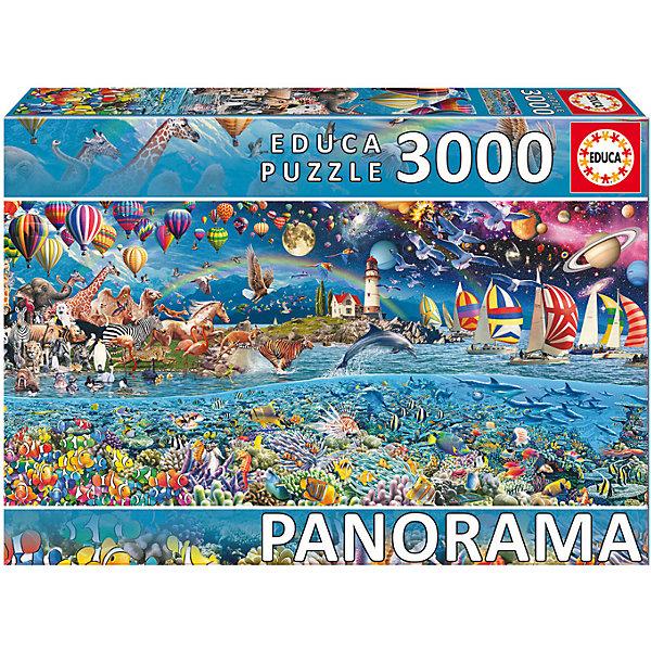 Educa Пазл Жизнь, 3000 деталей, Educa пазлы educa пазл 500 деталей серфинг