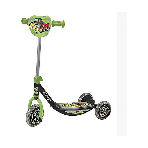 - Самокат детский трехколесный, Charmingsports buggy boom детский трехколесный самокат mini салатовый
