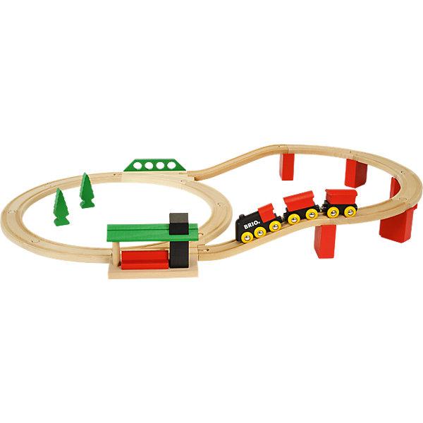 BRIO Железная дорога BRIO Классика Делюкс, 25 элементов железная дорога brio классика делюкс 25 эл 45х8х27см кор