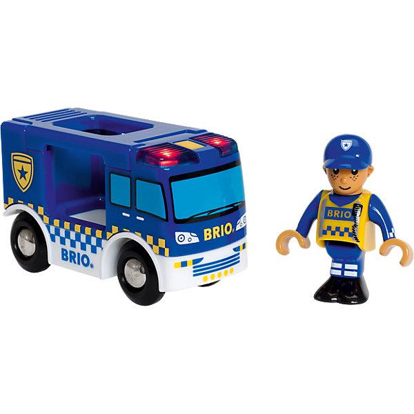 BRIO Фургон Полиция (свет, звук)