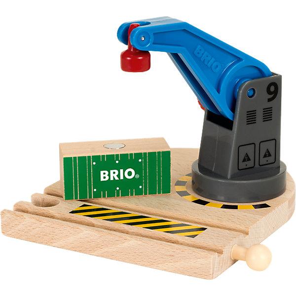 BRIO Игровой набор Brio Подъемный кран brio игровой набор brio грузовой вертолёт с вагонами