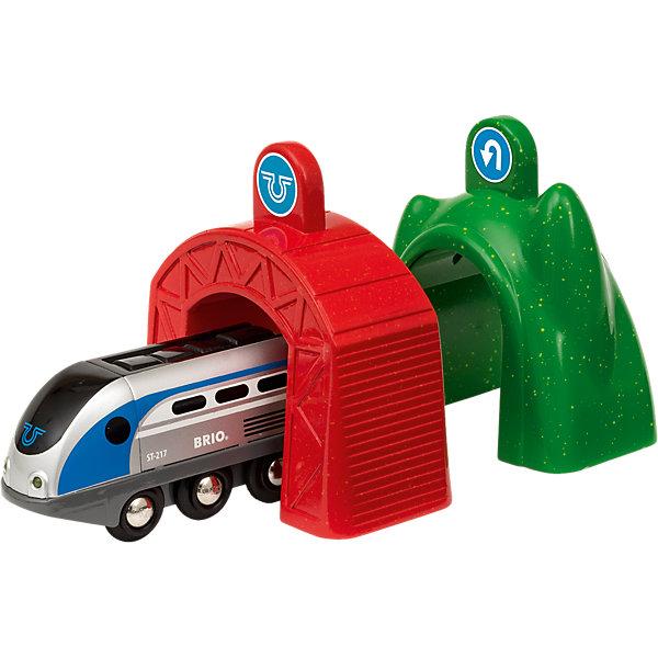 BRIO Игровой набор Brio Smart Tech Электропоезд и туннели