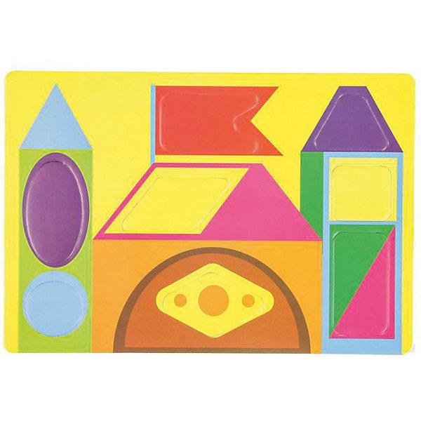 Мягкий конструктор Цветные формыПазлы для малышей<br>Мягкий конструктор Цветные формы<br><br>Характеристики:<br><br>• развивает мелкую моторику, логику и пространственное мышление<br>• мягкие детали из безопасных материалов<br>• размер упаковки: 22х24,3 см<br>• издательство: Феникс-Премьер<br>• вес: 25 грамм<br><br>Мягкий конструктор привлечет внимание ребенка и поможет провести время с пользой. Конструктор состоит из нескольких мягких деталей, из которых ребенок сможет собрать красивый геометрический узор или сооружение. Игра с мягким конструктором поможет развить мелкую моторику, координацию движений, логическое и пространственное мышление.<br><br>Мягкий конструктор Цветные формы можно купить в нашем интернет-магазине.