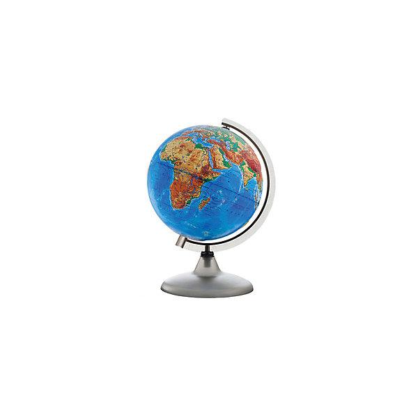Глобусный Мир Глобус Земли физический рельефный, диаметр 320 мм глобус земли ландшафтный рельефный на треугольнике с подсветкой диаметр 210 мм