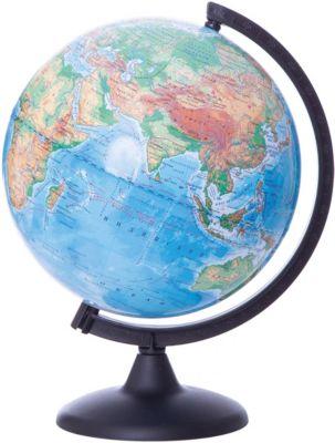 Глобус Земли физический, диаметр 250 мм, артикул:5518208 - Глобусы