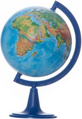 Глобус Земли физический, диаметр 150 мм, артикул:5518210 - Глобусы
