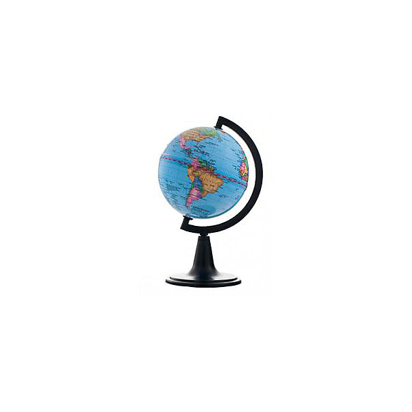 Глобусный Мир Глобус Земли политический, диаметр 120 мм