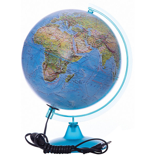 Глобусный Мир Глобус Земли «Двойная карта» с подсветкой, диаметр 250 мм walking shoes asics gel lyte komachi hn7n9 1717 sneakers for female tmallfs