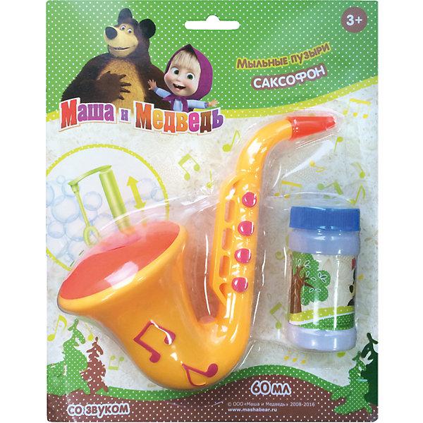 Мыльные пузыри 1toy Маша и Медведь Саксофон, 60 млИгрушки<br>Характеристики:<br><br>• возраст: от 3 лет;<br>• материал: пластик, мыльный раствор;<br>• комплектация: саксофон, 60 мл;<br>• вес: 192 гр;<br>• размер: 25х20х8 см;<br>• страна бренда: Россия;<br>• бренд: 1Toys.<br><br>Мыльные пузыри «Маша и Медведь» с игрушкой - саксофоном. Заливаем мыльный раствор в музыкальный инструмент и начинаем играть на саксофоне - из него будут выдуматься мыльные пузыри!<br><br>Мыльные пузыри «Маша и Медведь» можно купить в нашем интернет-магазине.<br>Ширина мм: 200; Глубина мм: 80; Высота мм: 200; Вес г: 192; Возраст от месяцев: 36; Возраст до месяцев: 192; Пол: Унисекс; Возраст: Детский; SKU: 5519379;
