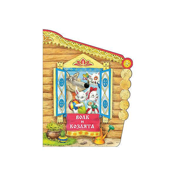 Мозаика-Синтез Волк и козлята, А.Н. Толстой книжки картонки росмэн книжка волк и козлята